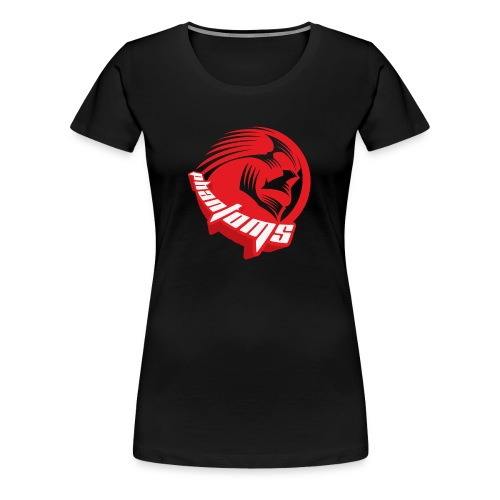Women's Premium T-Shirt - Womens t-shirt with Phantoms Sledge Hockey Roundel on the front. Choice of colours available.