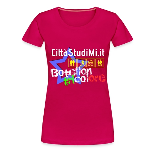 Botellon Tricolore - Maglietta Premium da donna