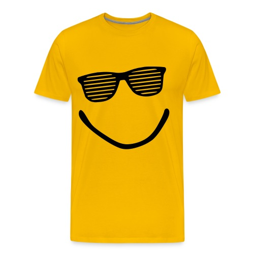 T-shirt-smiley été - T-shirt Premium Homme