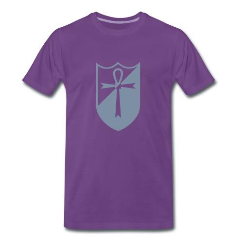 Knight of Ankh - Männer Premium T-Shirt