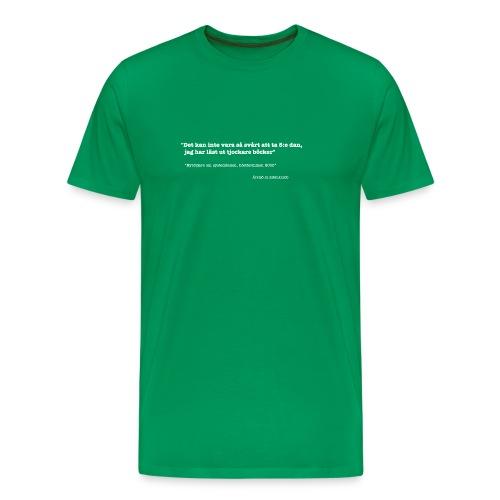 Lägertröja 2007 herr - Premium-T-shirt herr