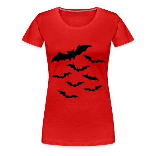 Fledermaus T-Shirt - Frauen Premium T-Shirt