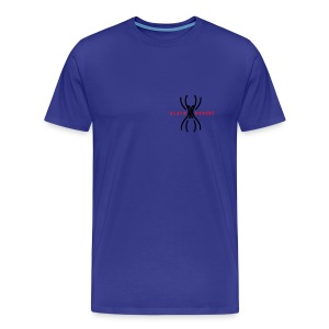 Alain Robert the french spiderman small black logo - Camiseta premium hombre