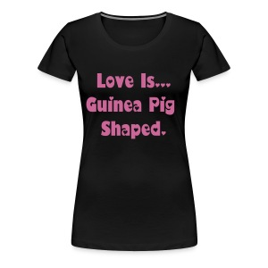 Love Is... Pink Glitter - Women's Premium T-Shirt