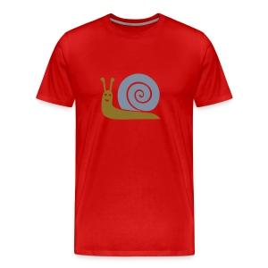 Golden Schneck - Männer Premium T-Shirt