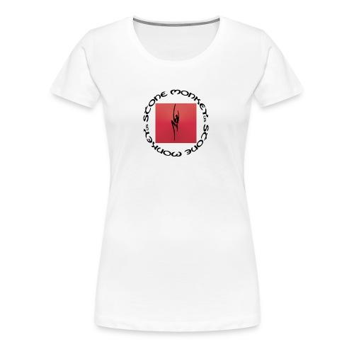 Classic Stone Monkey Climbing Pull Womem - Women's Premium T-Shirt