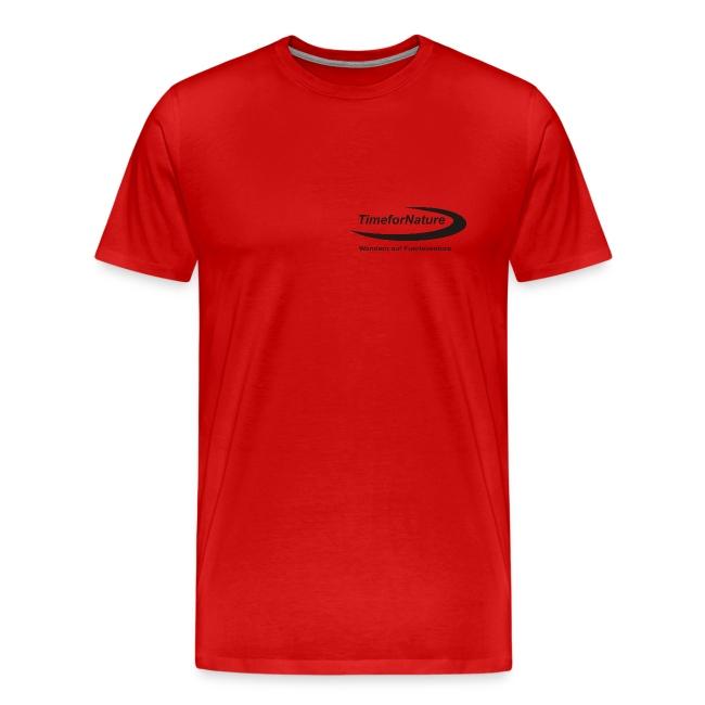 Herren-Shirt von 3XL-5XL mit TimeforNature-Logo