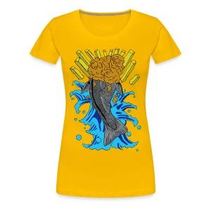 British Koi Girlie Tee - Women's Premium T-Shirt