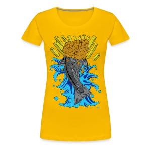 British Koi Girlie Tee - Women's Premium T-Shirt