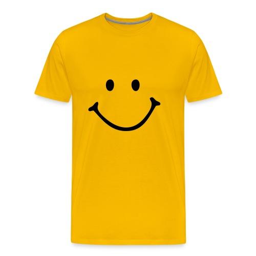 Smiley  - Mannen Premium T-shirt