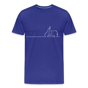 Vespa LX Linea - Männer Premium T-Shirt