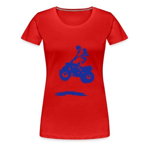 T shirt rouge - T-shirt Premium Femme