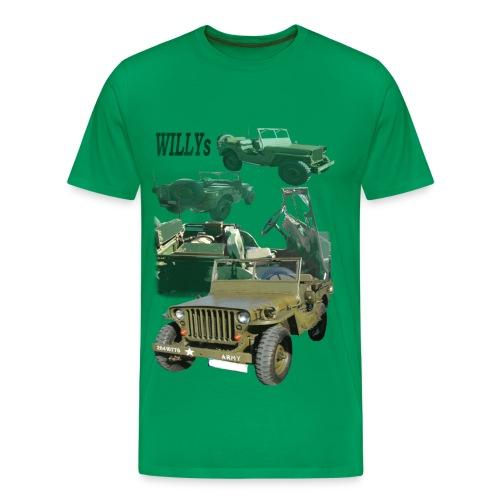 Willys - Männer Premium T-Shirt