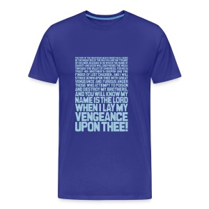 Ezekiel 25:17 - Men's Premium T-Shirt