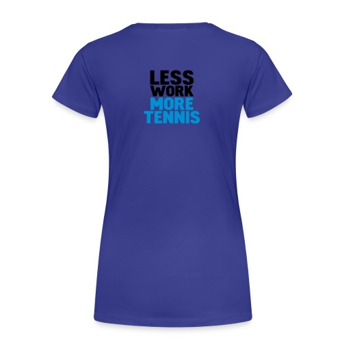 Shirt TENNIS - Frauen Premium T-Shirt