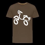 T-Shirts ~ Männer Premium T-Shirt ~ Vespa T-Shirt