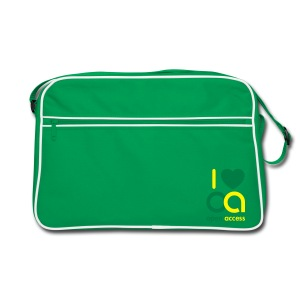 I love Open Access Retro-Tasche - Retro Tasche
