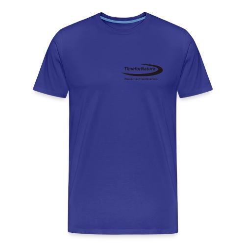 TimeforNature-Shirt für Herren mit Logo in schwarz - Männer Premium T-Shirt