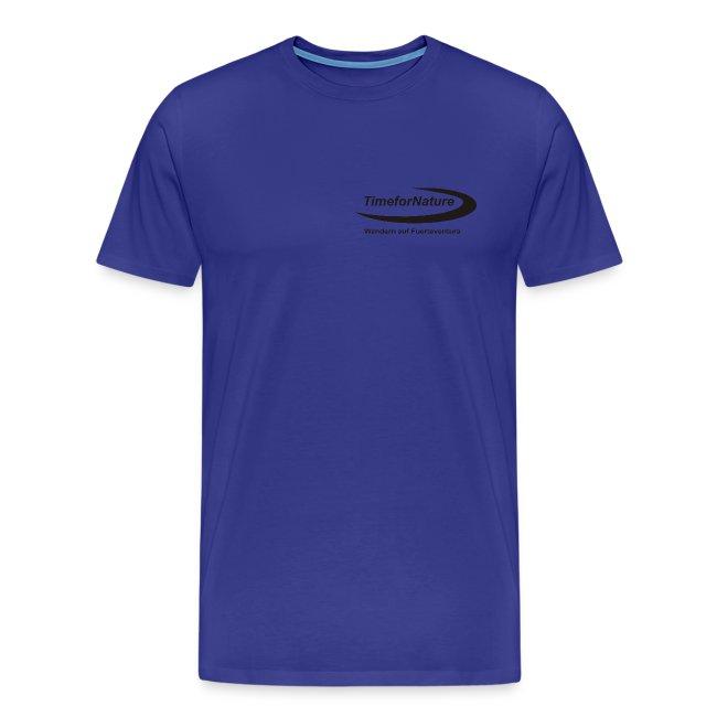 TimeforNature-Shirt für Herren mit Logo in schwarz