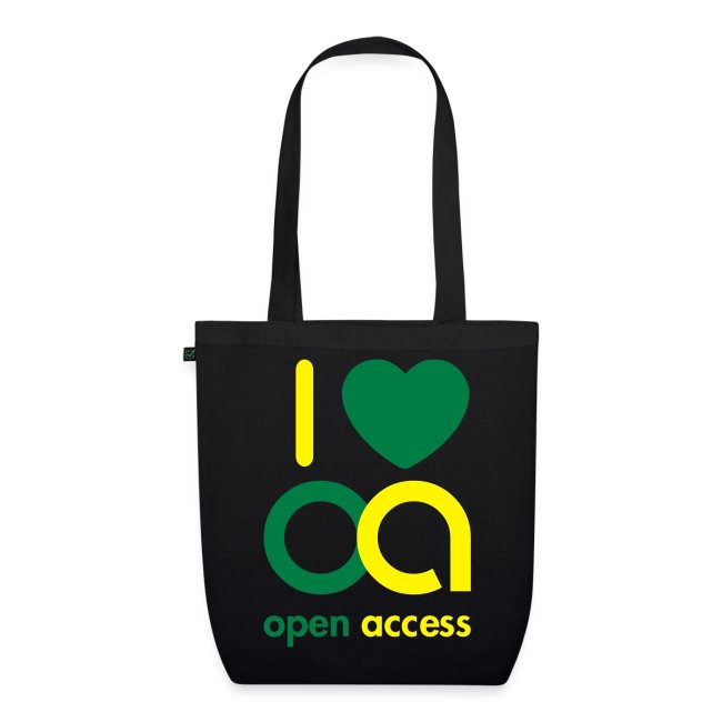 I love Open Access Bio-Stoffbeutel