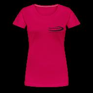 T-Shirts ~ Frauen Premium T-Shirt ~ TimeforNature-Shirt für Damen XL - 3XL mit Logo