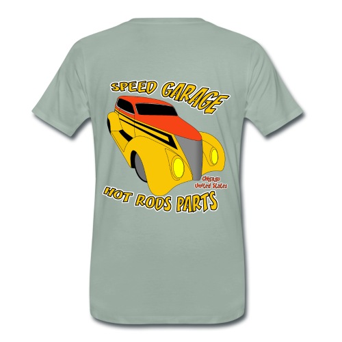 t-shirt us old car - Men's Premium T-Shirt