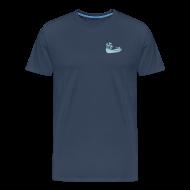 T-Shirts ~ Männer Premium T-Shirt ~ Fischerboot, mini, Fischland-Darß-Zingst