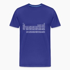 Classic tee with Periodic Table