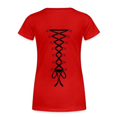 tee shirt façon déchiré  - T-shirt Premium Femme