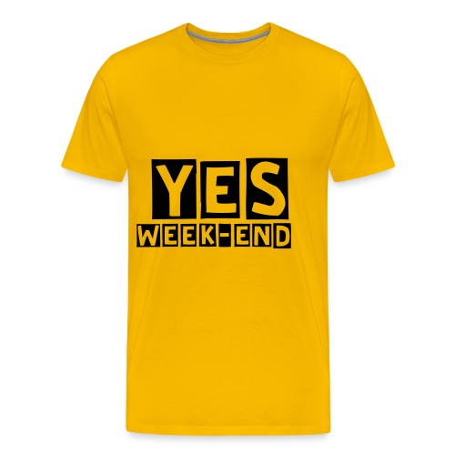 Yes Week-end - T-shirt Premium Homme
