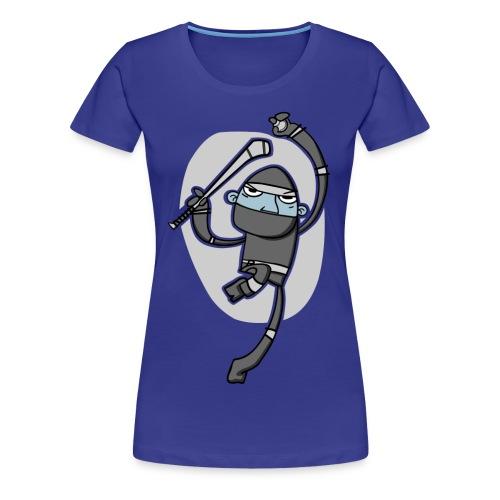 Ninja Hurler - Girlie T-shirt - Women's Premium T-Shirt
