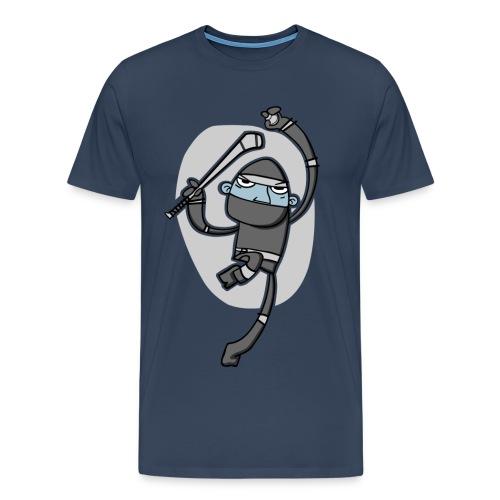 Ninja Hurler : Men's T-shirt - Men's Premium T-Shirt