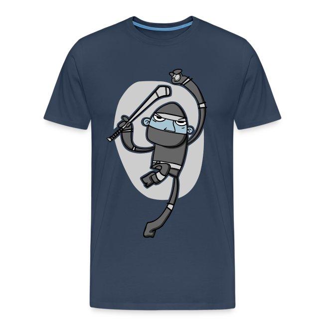 Ninja Hurler : Men's T-shirt