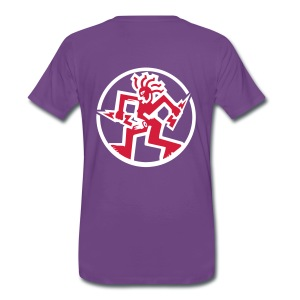 Fantazia Logos to Front and back - Men's Premium T-Shirt
