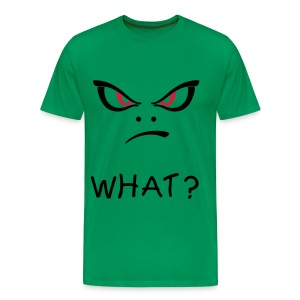 Men's Premium T-Shirt - angry,devil,negative,what