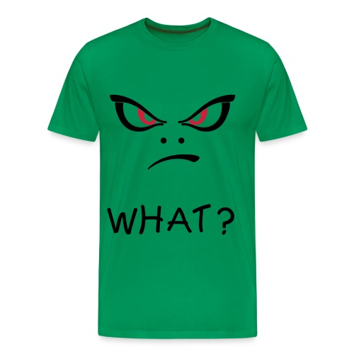 Men's Premium T-Shirt - what,negative,devil,angry