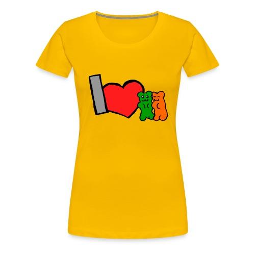 IchmagGümmibärchen - Frauen Premium T-Shirt
