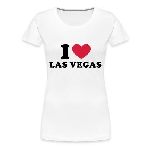 Frauen Premium T-Shirt - tshirt,lasvegas,i love vegas