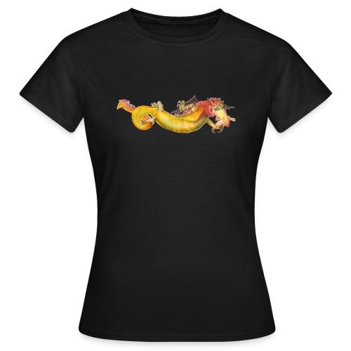 «Dragón amarillo» - Camiseta mujer