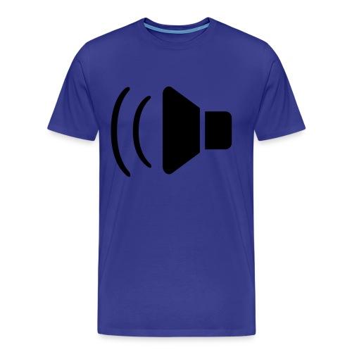Speaker Shirt  - Men's Premium T-Shirt