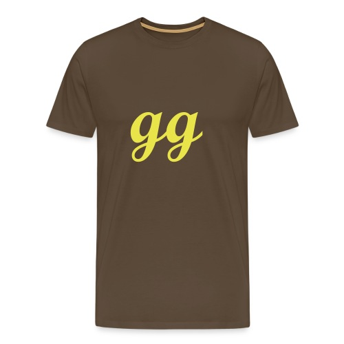 gg (noob.) - Men's Premium T-Shirt