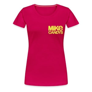 MIKE CANDYS Women's Girlie Shirt - Women's Premium T-Shirt