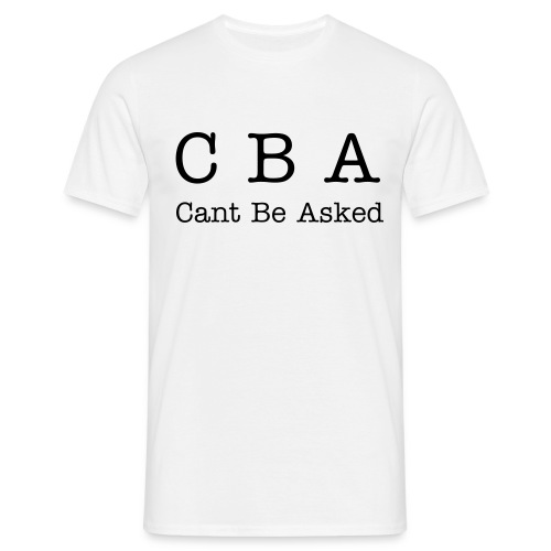 CBA   t-shirt - Men's T-Shirt