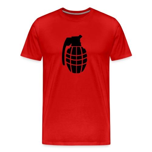 grenade t-shirt - Men's Premium T-Shirt