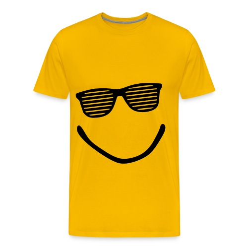 SMILEY TEE - Men's Premium T-Shirt
