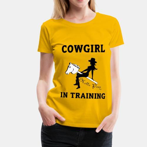 Shirt im Training - Frauen Premium T-Shirt