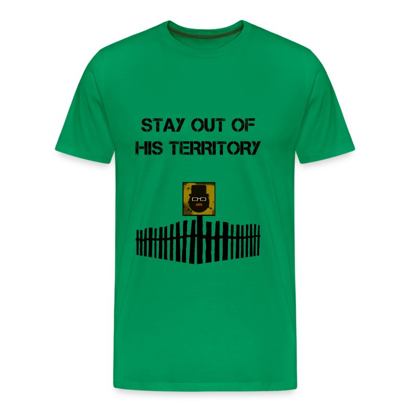 Breaking Bad - stay out of his territory - Camiseta premium hombre