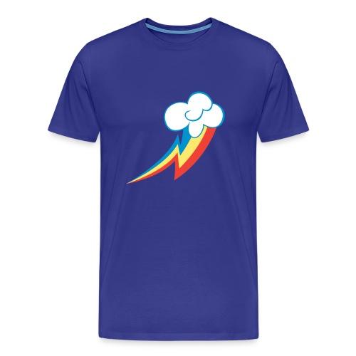 Rainbow Dash Cutie Mark - Men's Premium T-Shirt