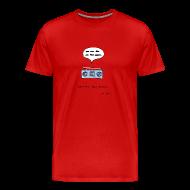 T-Shirts ~ Men's Premium T-Shirt ~ Stop the bad music - Men's color tee
