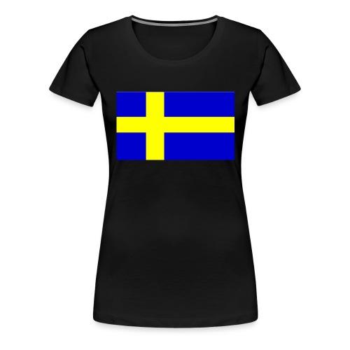Damtopp Sweflag - Women's Premium T-Shirt